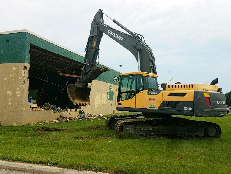 Construction Site - Building Demolition
