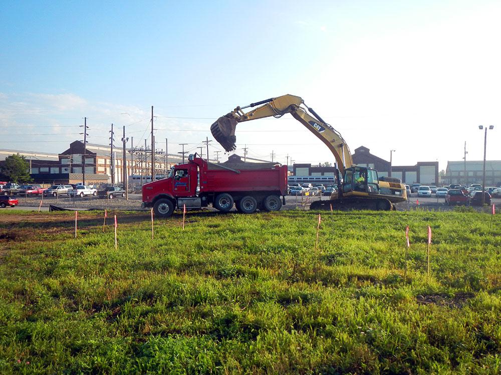 Construction Site - PCB Soil Excavation