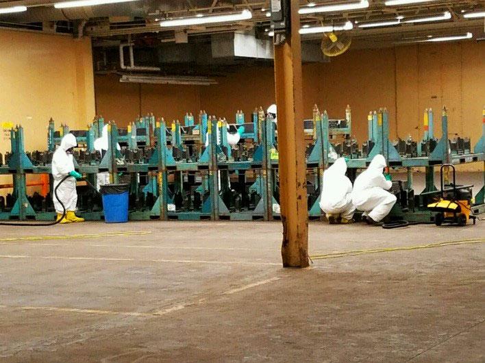 Industrial - Lead Dust Decontamination